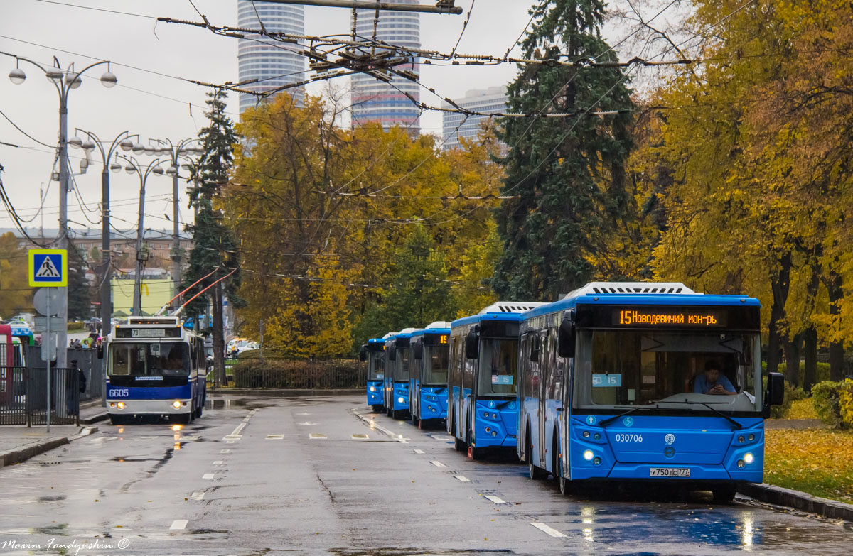 Moscow, LiAZ-5292.22 (2-2-2) # 030706; Moscow — Bus stations