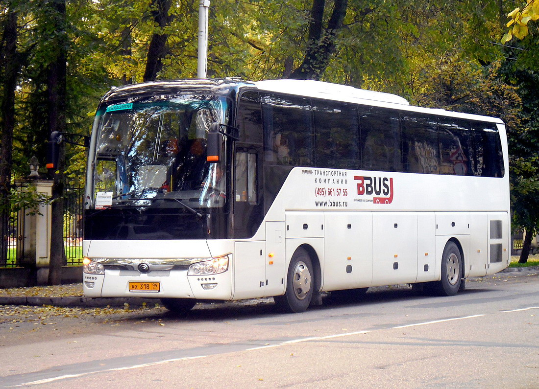 Moscow, Yutong ZK6122H9 # АХ 318 99