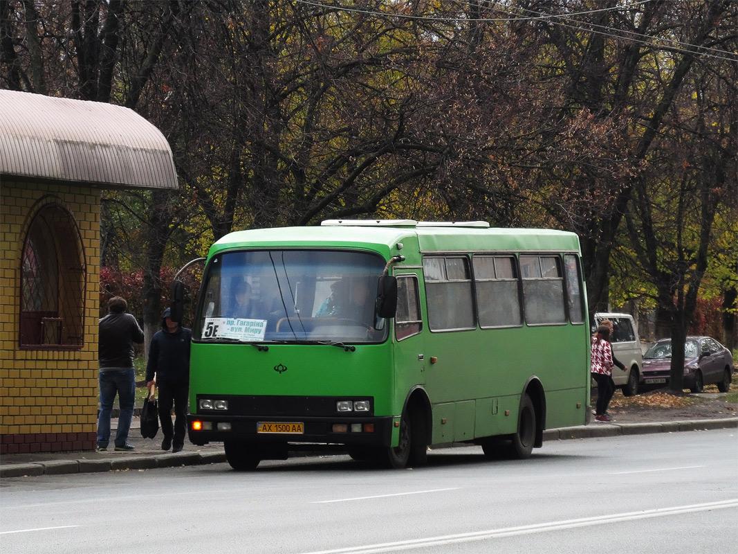 Kharkov region, Bogdan A091 # АХ 1500 АА