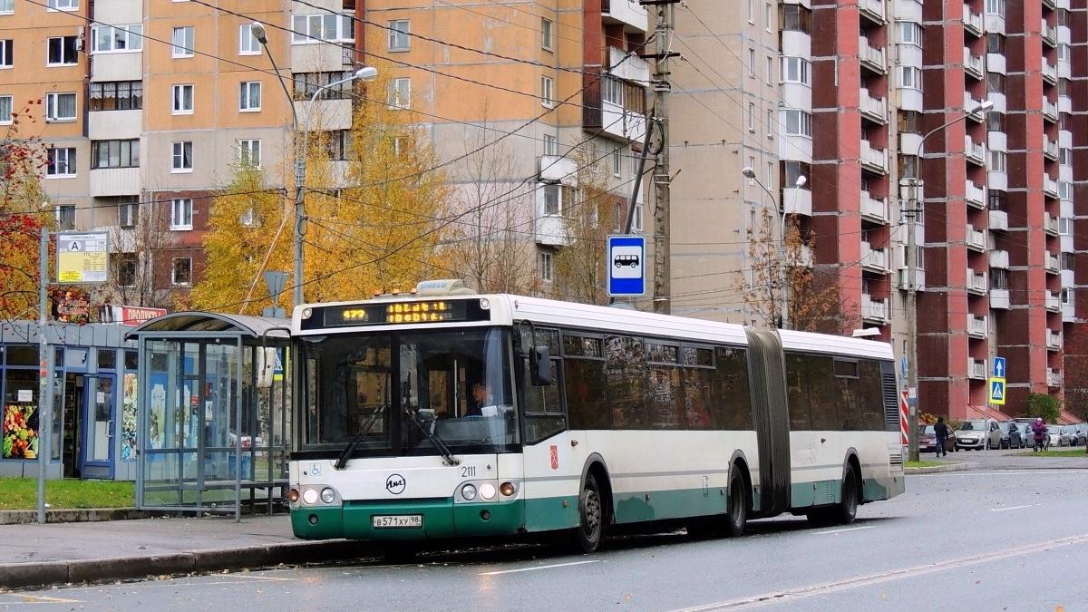 Saint-Petersburg, LiAZ-6213.20 # 2111