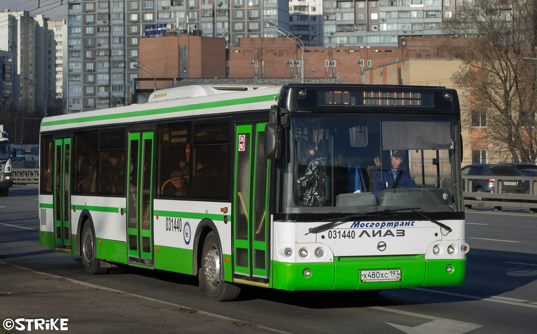 Москва, ЛиАЗ-5292.22 (2-2-2) № 031440