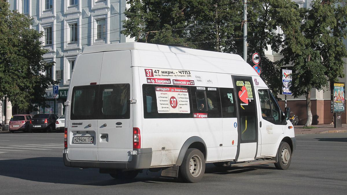 Chelyabinsk region, Nizhegorodets-222709  (Ford Transit) # М 294 ОК 174