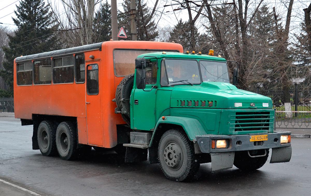 Днепропетровская область, Вахтовые автобусы № АЕ 9034 АА