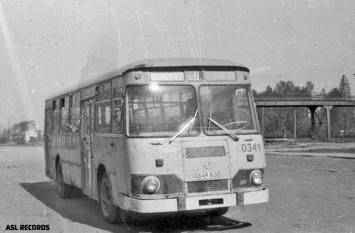 Saint-Petersburg, LiAZ-677G # 0349