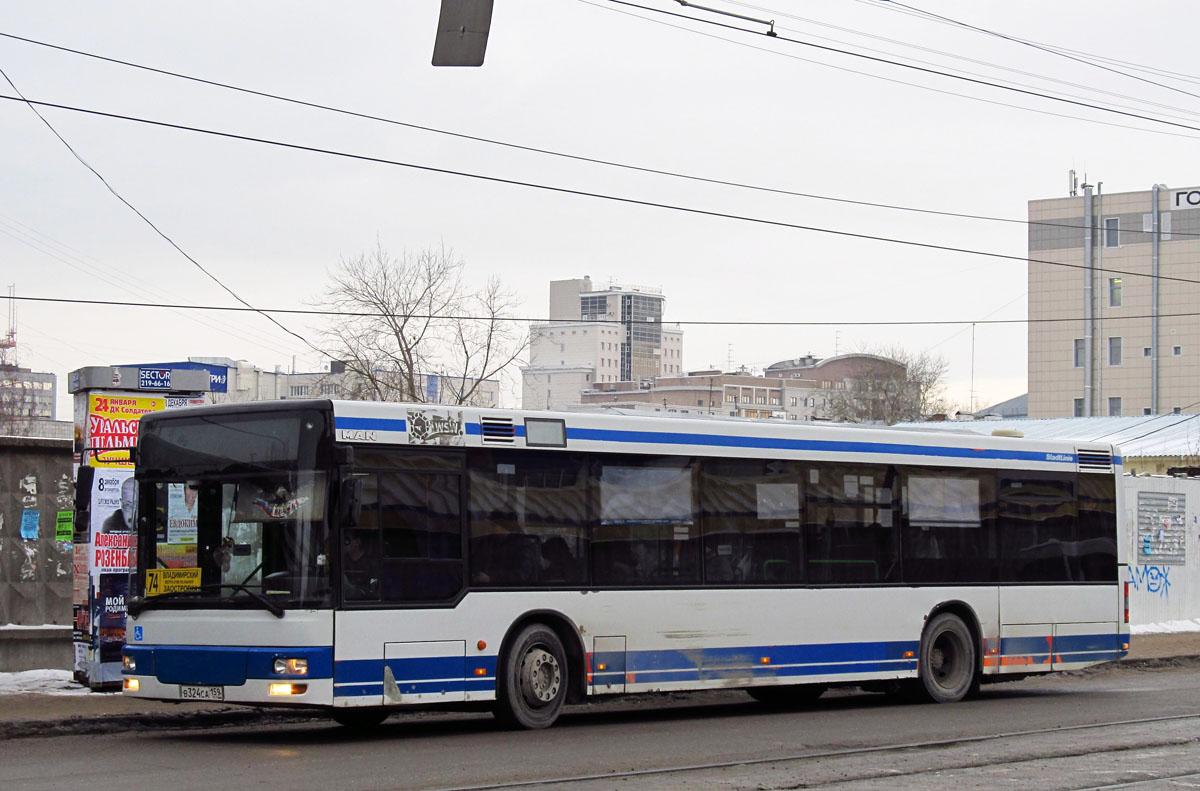 Perm region, MAN A21 NL263 # В 324 СА 159