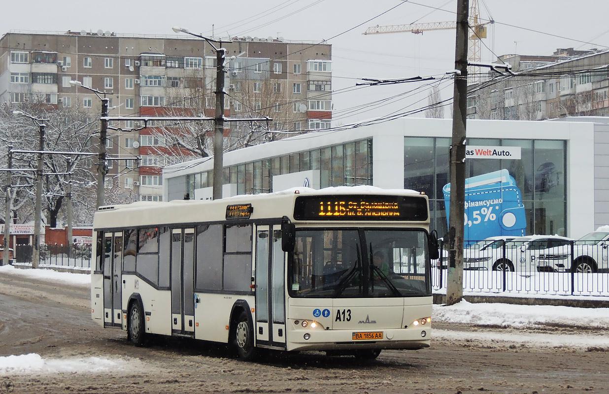 Kirovograd region, MAZ-103.486 # А13