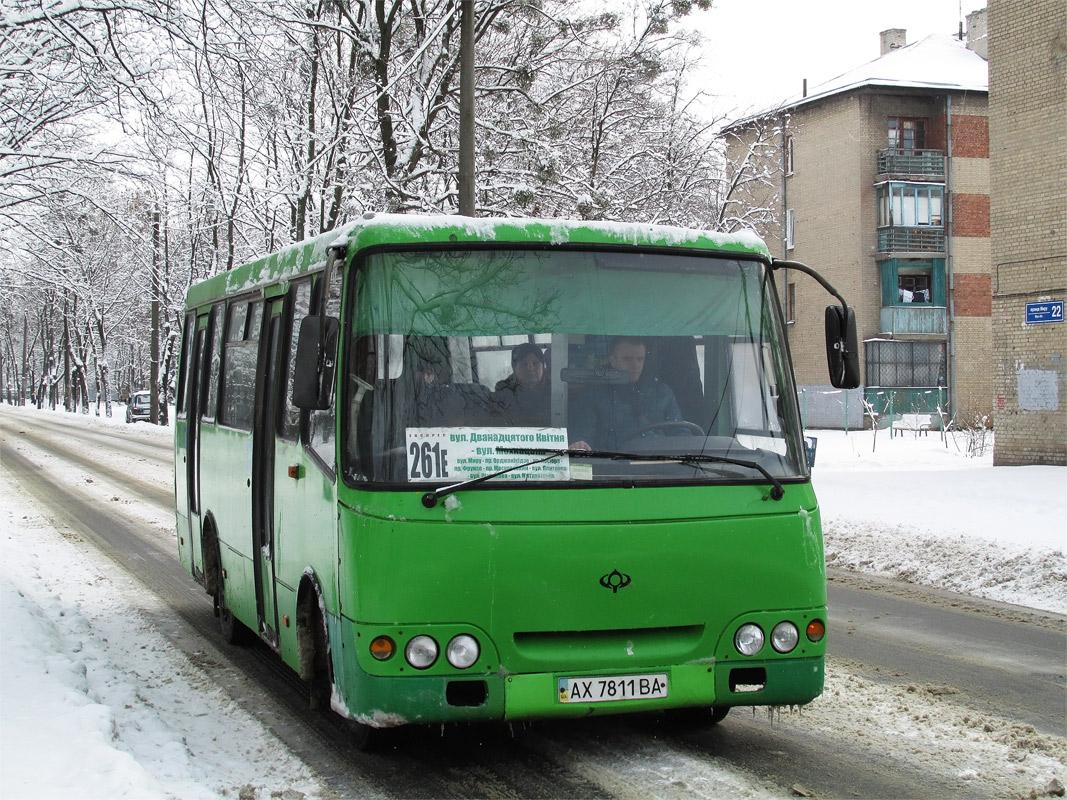 Kharkov region, Bogdan A09201 # АХ 7811 ВА