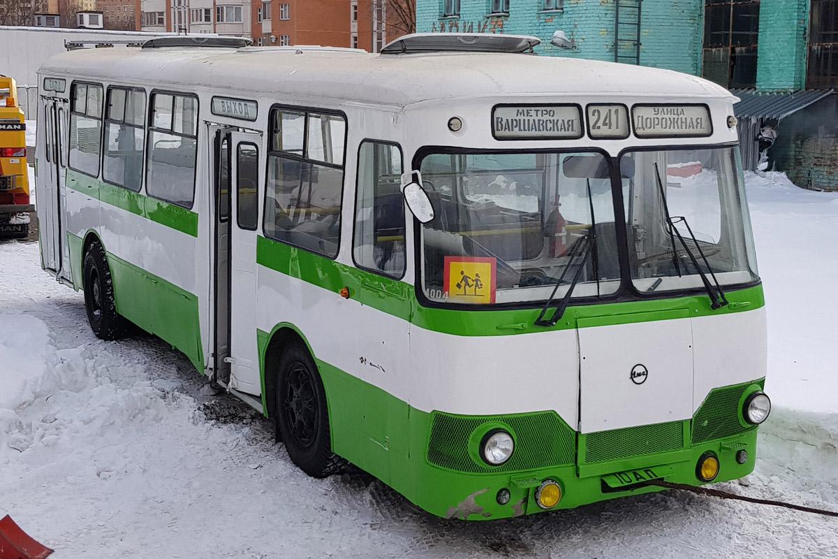 Moscow, LiAZ-677B # Р 677 ЕВ 77