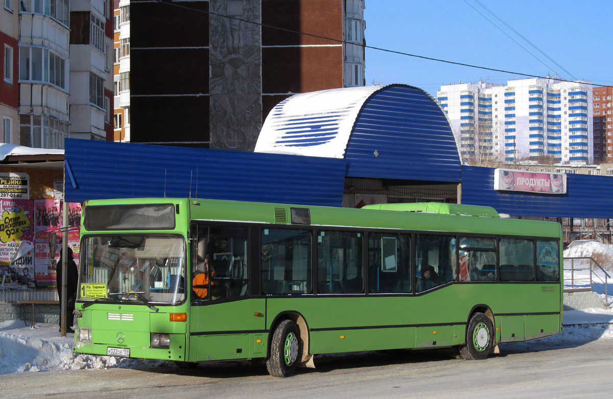 Perm region, Mercedes-Benz O405N2 # К 022 ОЕ 159