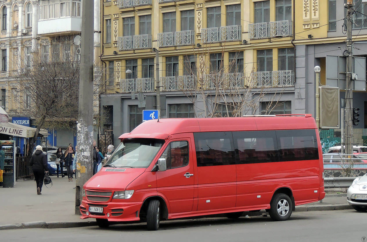 Kyiv region, Mercedes-Benz Sprinter 310D # АІ 7608 ЕХ