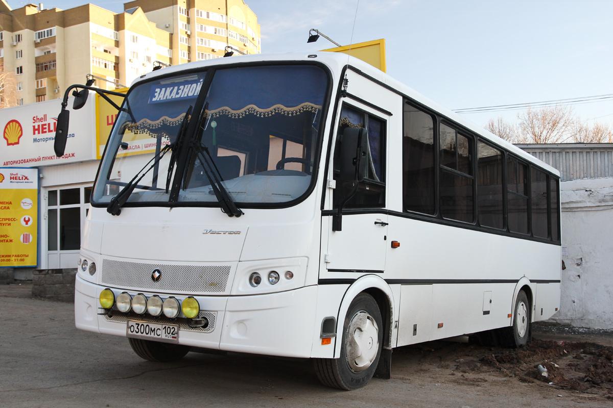 """Башкортостан, ПАЗ-320412-05 """"Вектор"""" (CR, CF) № О 300 МС 102"""