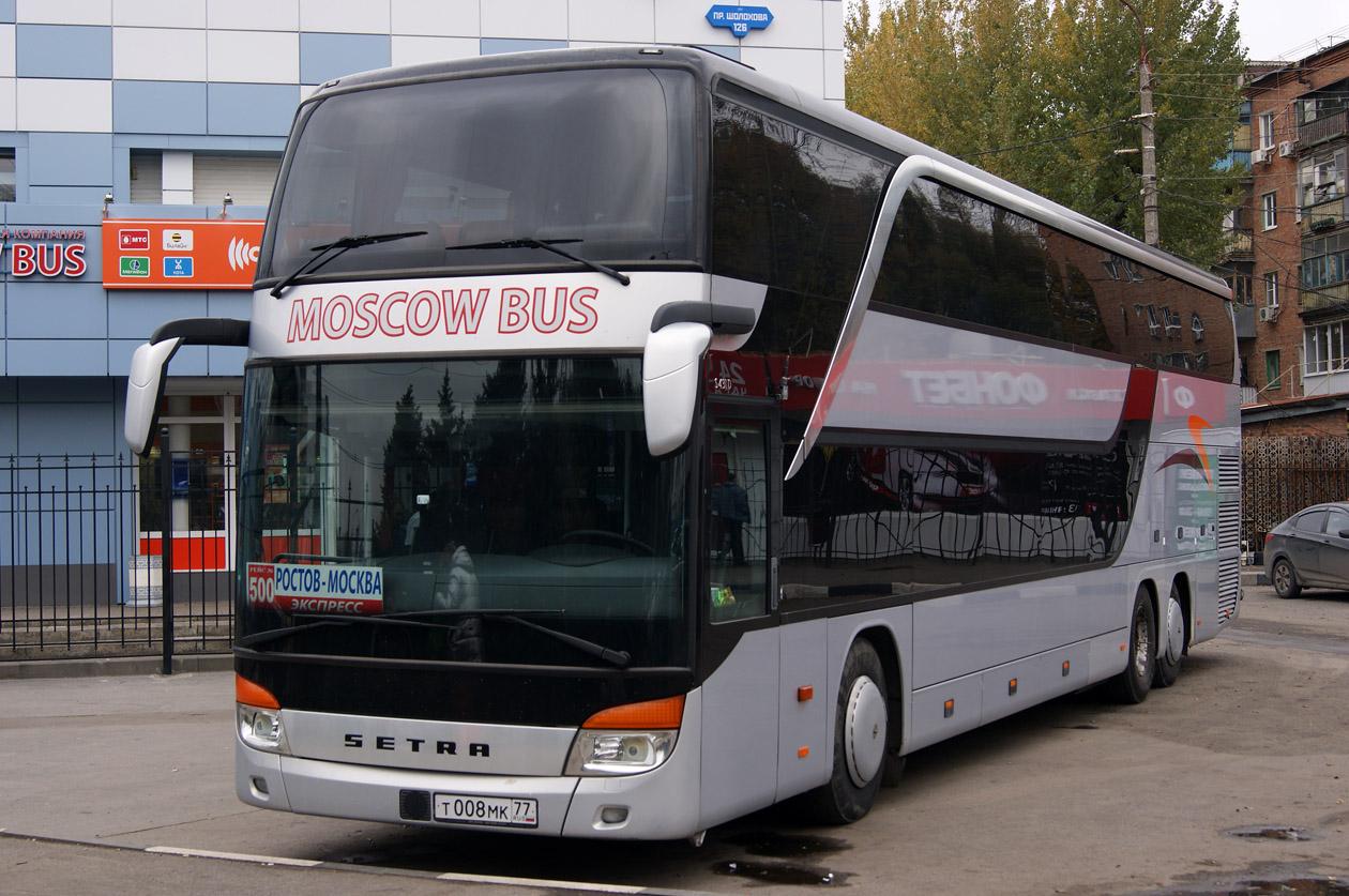 Ростовская область, Setra S431DT № Т 008 МК 77