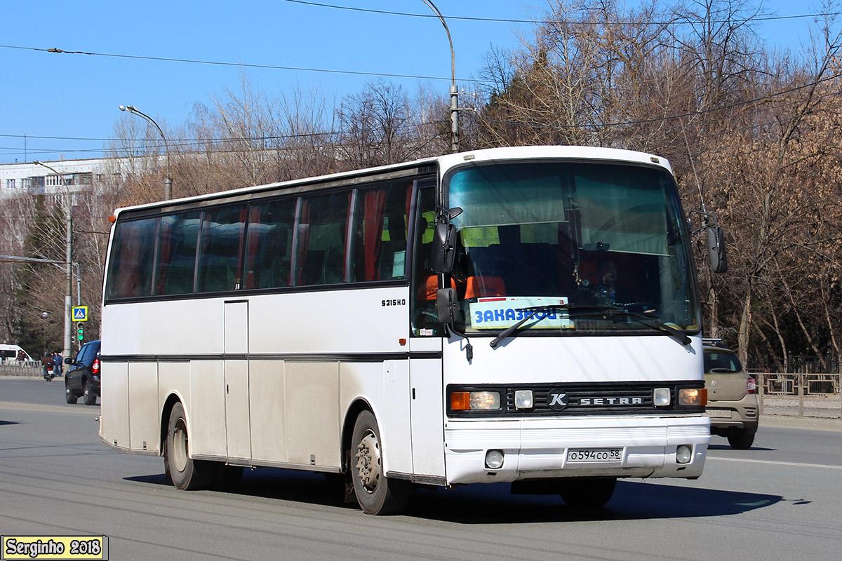 Пензенская область, Setra S215HD № О 594 СО 58