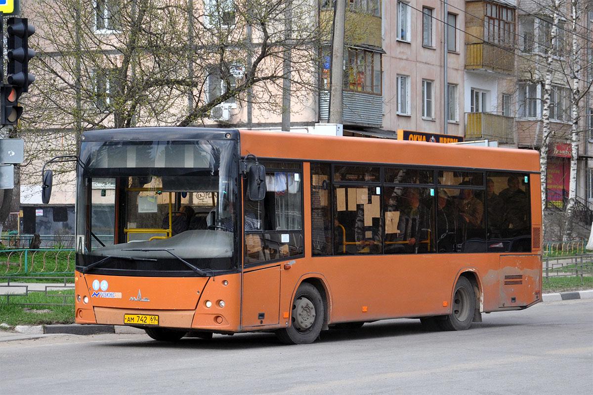 Tver region, MAZ-206.063 # АМ 742 69