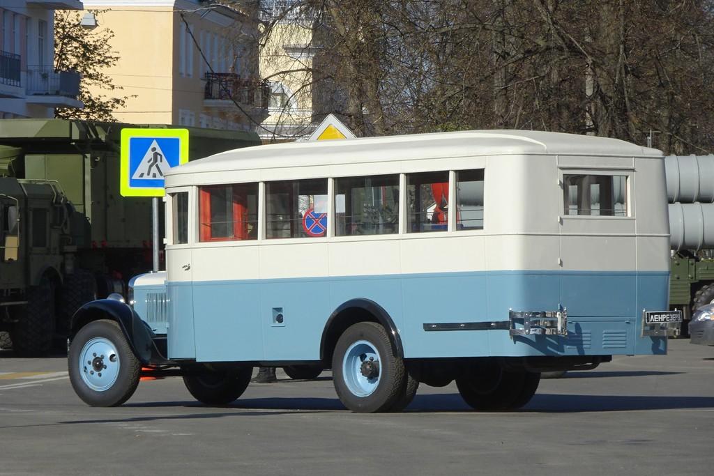 Saint-Petersburg, ZiS-8 # ЗиС-8