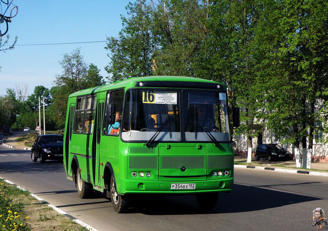 Nizhegorodskaya region, PAZ-32054 (40, K0, H0, L0) # Р 354 ВХ 152