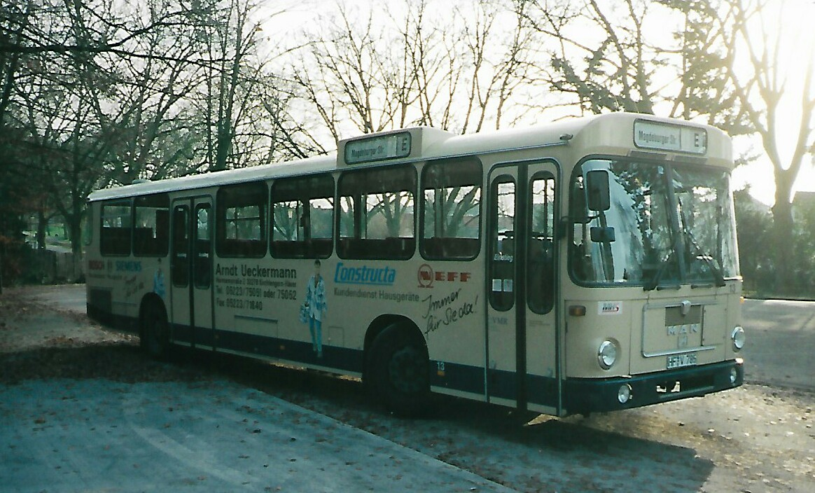 Germany, MAN SÜ240 # 13