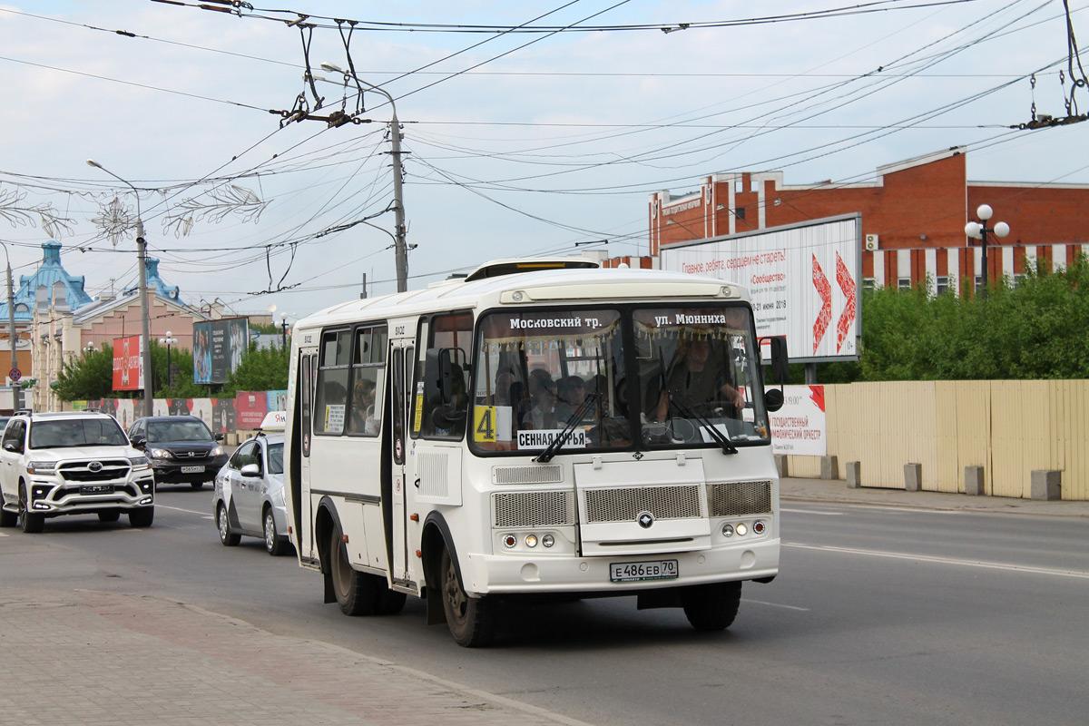 Tomsk region, PAZ-32054 (40, K0, H0, L0) # Е 486 ЕВ 70