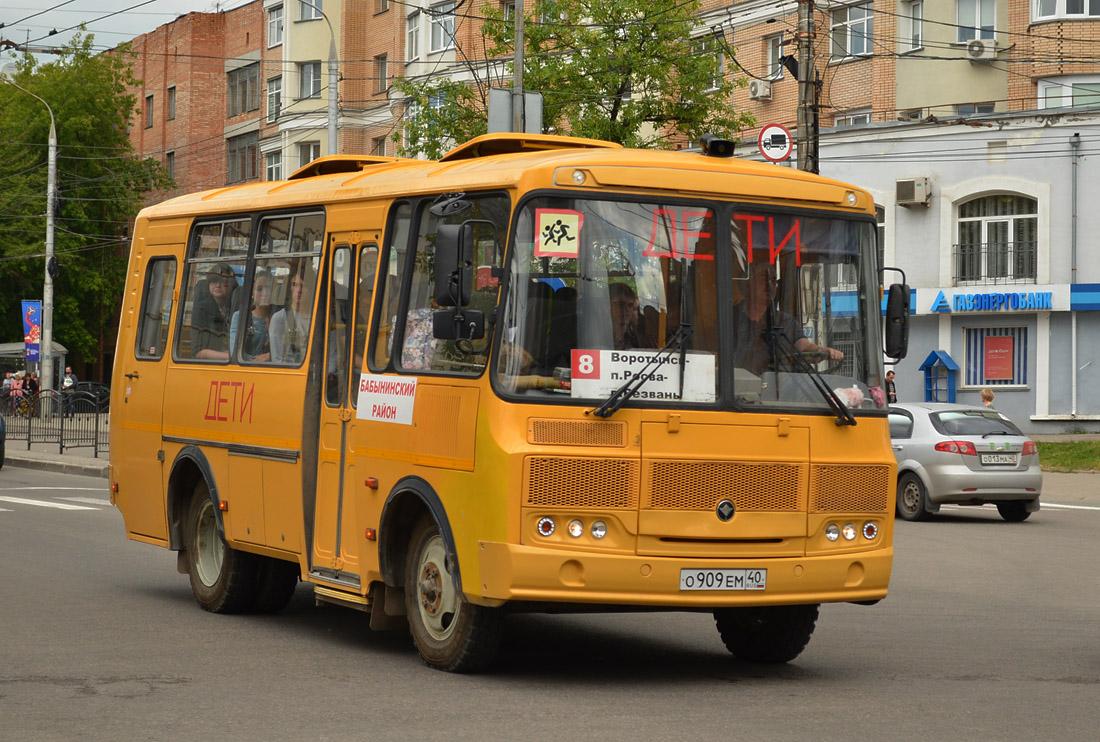 Kaluga region, PAZ-32053-70 (EX, CX, BX) # О 909 ЕМ 40