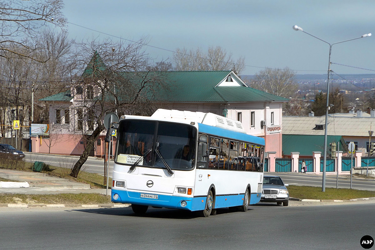 Belgorod region, LiAZ-5256.57 # Н 344 МС 31