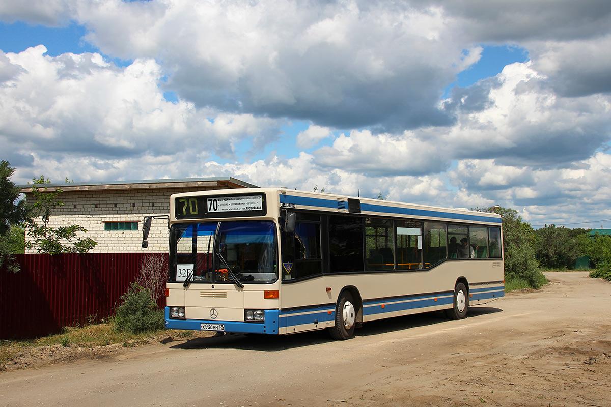 Penza region, Mercedes-Benz O405N2 # Х 936 НМ 33; Penza region — Avtobusnye vokzaly, stancii i konechnye ostanovki