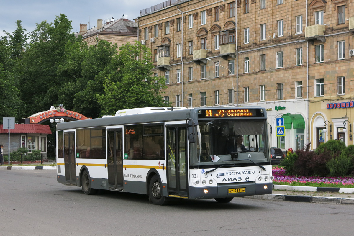 Московская область, ЛиАЗ-5292.60 № 331