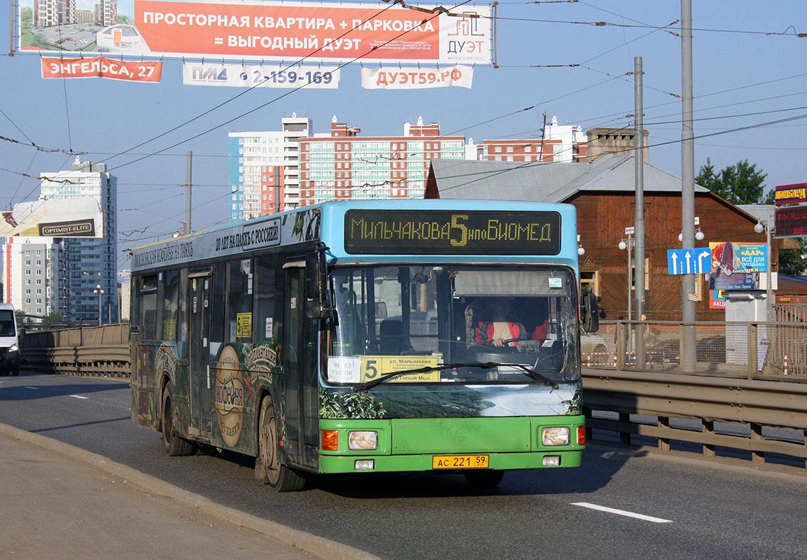 Perm region, MAN A10 NL222 # АС 221 59