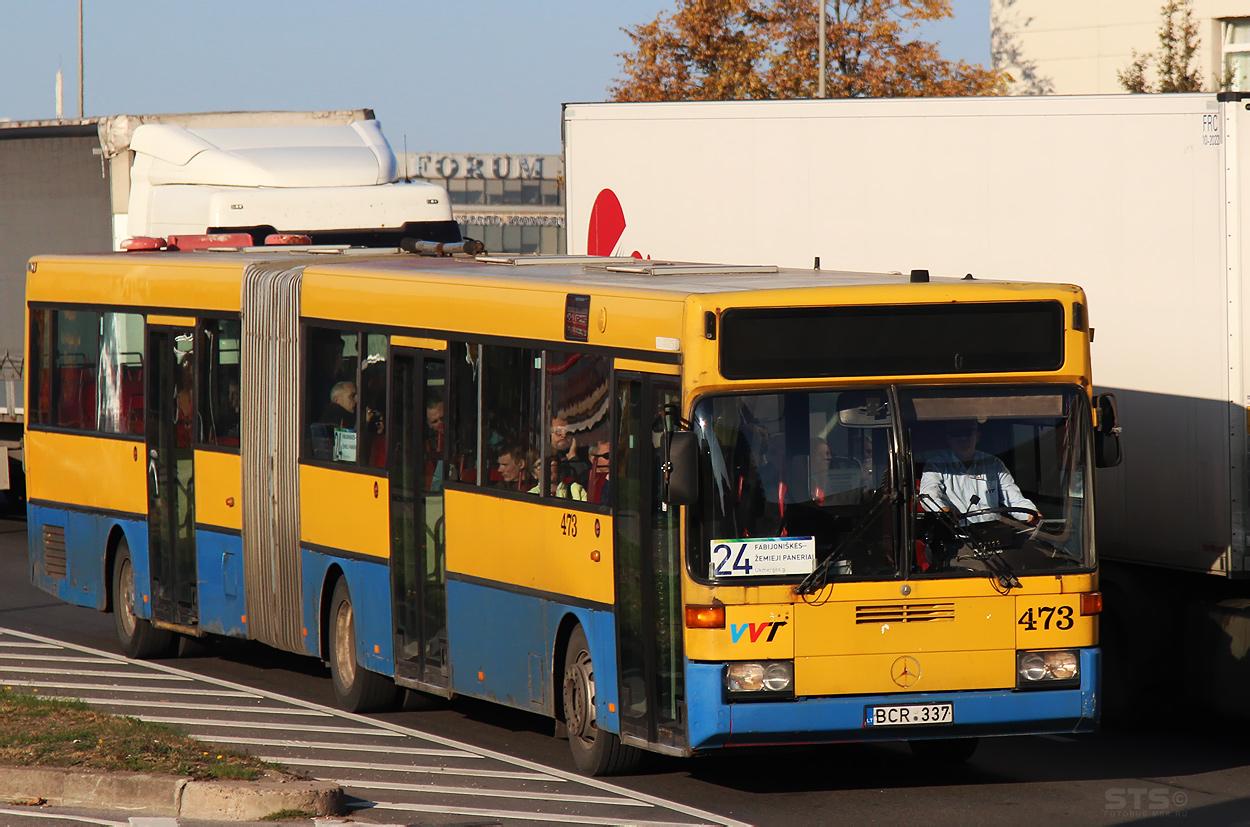 Lithuania, Mercedes-Benz O405G # 473