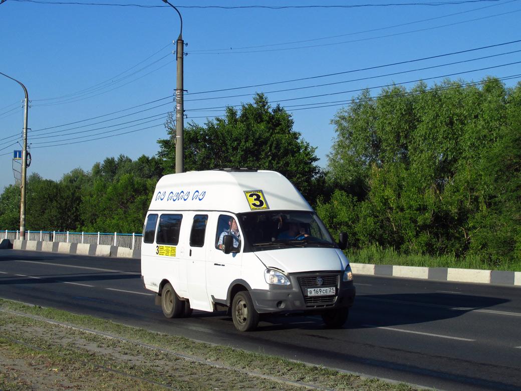 Ulyanovsk region, Luidor-225000 (GAZ-322133) # В 169 СЕ 21