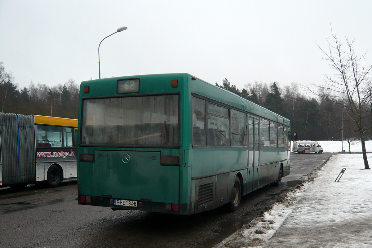 Lithuania, Mercedes-Benz O407 # BFE 846