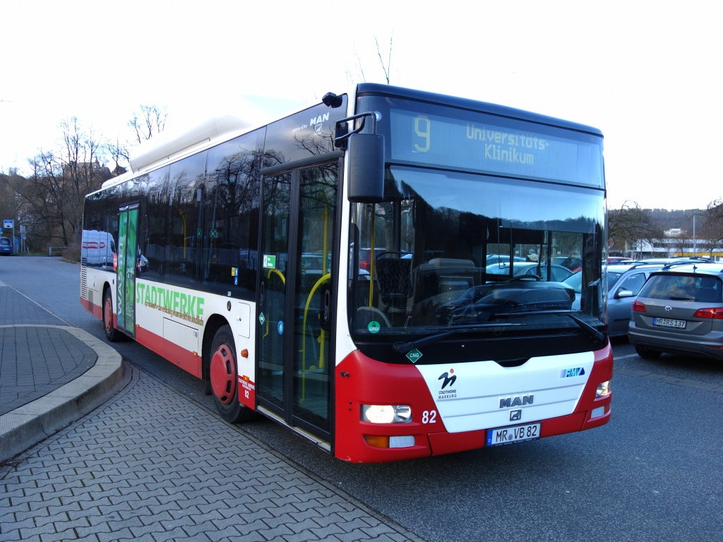 Germany, MAN A21 Lion's City NL313 CNG # 82