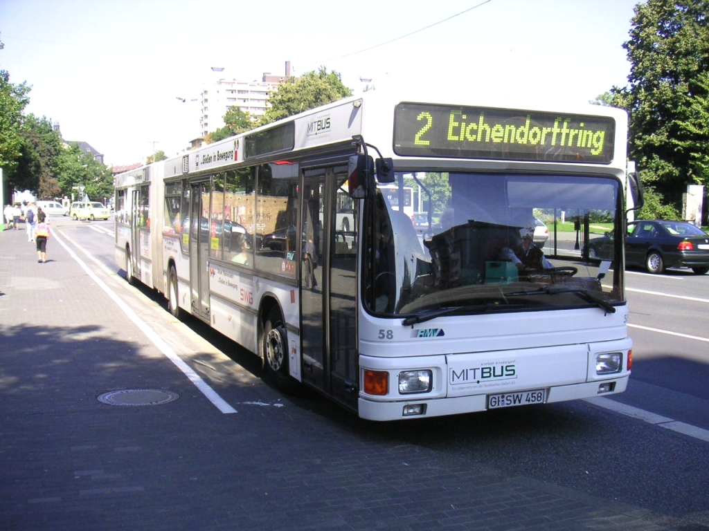 Germany, MAN A11 NG272 # 58