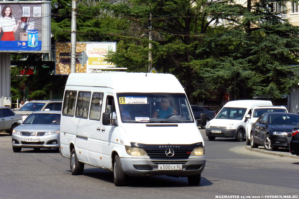 Republic of Crimea, Mercedes-Benz Sprinter 313CDI # А 500 СЕ 82