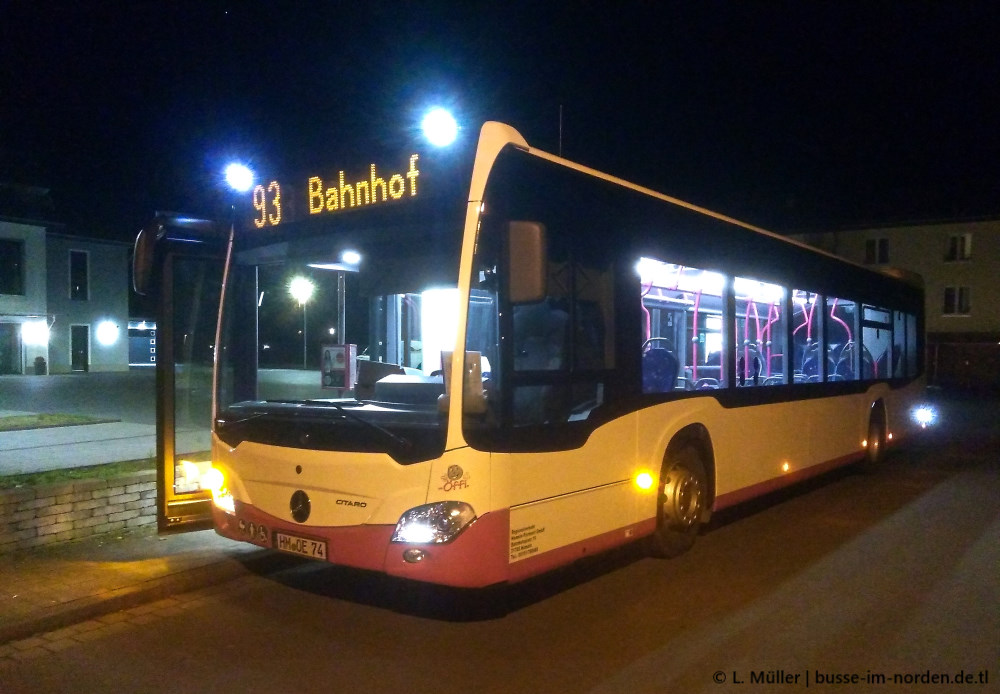 Germany, Mercedes-Benz O530 Citaro hybrid # 74