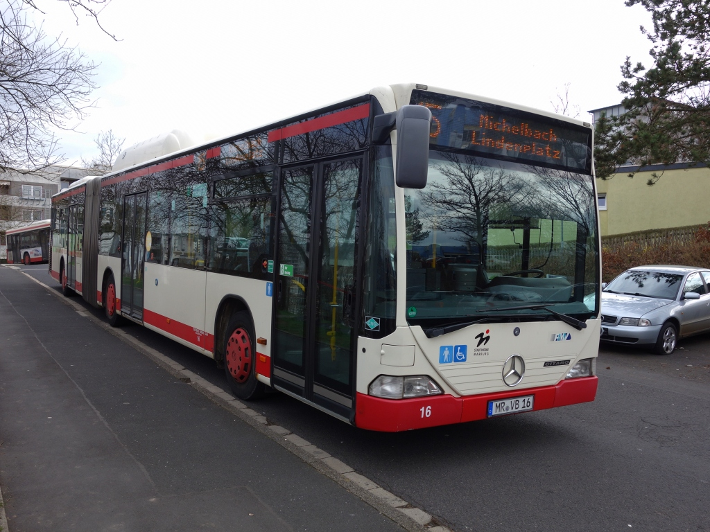 Germany, Mercedes-Benz O530 Citaro G CNG # 16