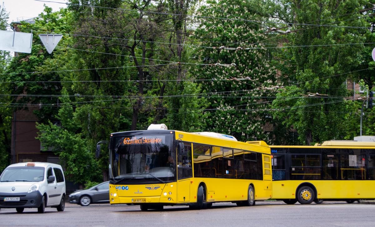 Kyiv, MAZ-203.069 # 8207