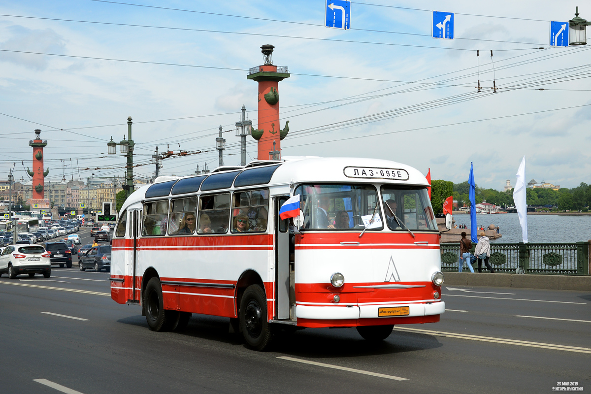 "Moscow, LAZ-695E # 006; Saint Petersburg — World transport festival ""SPbTransportFest-2019"""