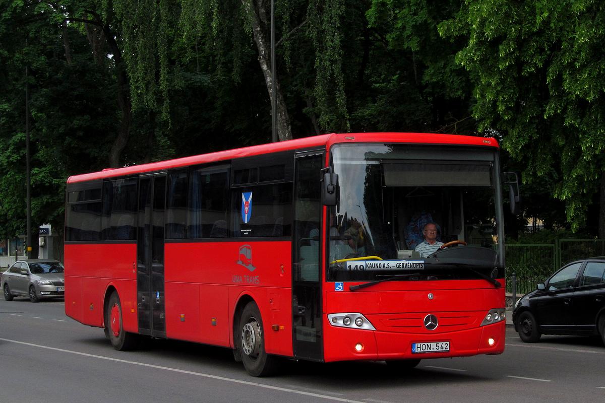 Lithuania, Mercedes-Benz Intouro # HON 542