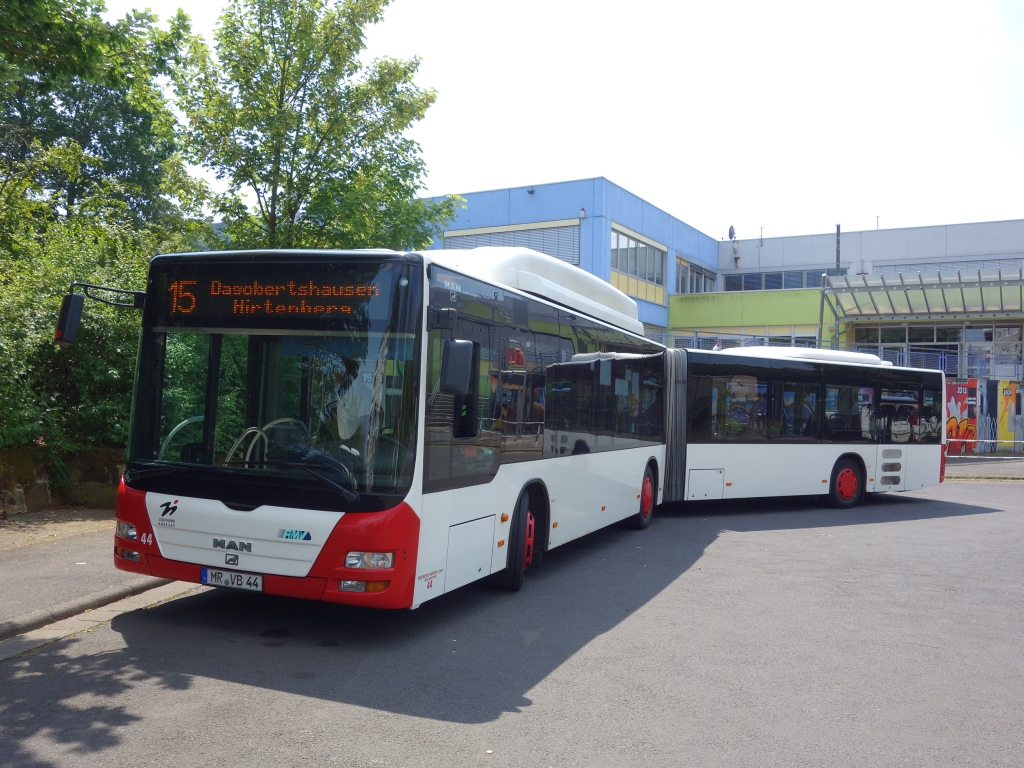 Germany, MAN A23 Lion's City G NG313 CNG # 44