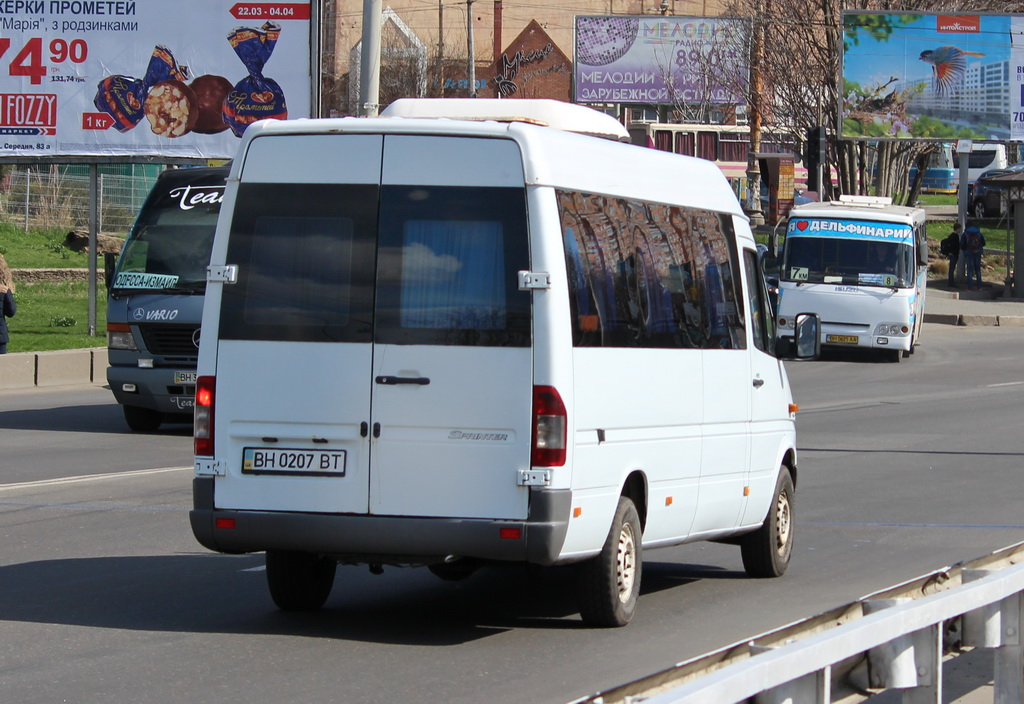 Odessa region, Mercedes-Benz Sprinter 311CDI # ВН 0207 ВТ