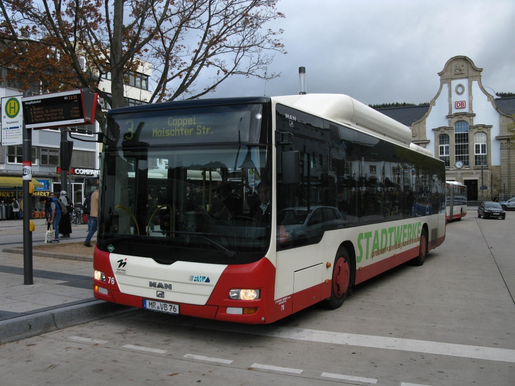 Germany, MAN A21 Lion's City NL313 CNG # 76