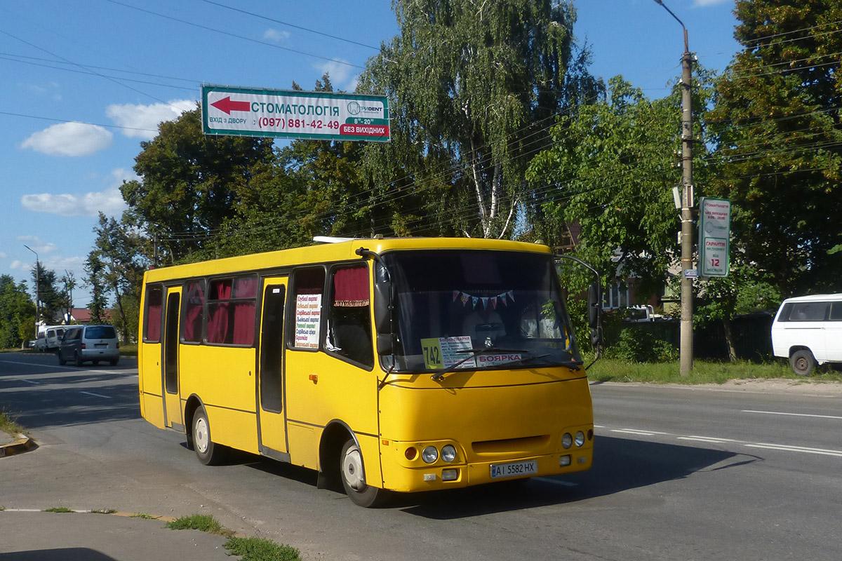 Kyiv region, Bogdan A09201 # АІ 5582 НХ