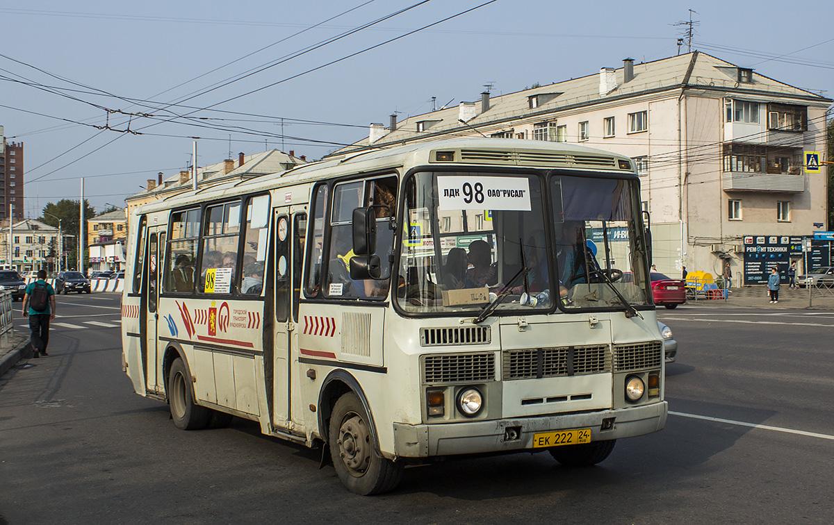 Krasnoyarsk region, PAZ-4234 (00, T0, K0, B0) # ЕК 222 24
