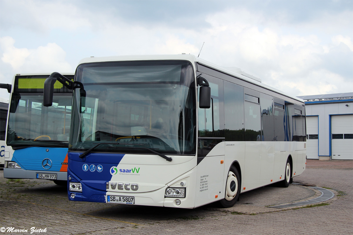 Germany, IVECO Crossway LE Line 12M # SB-A 5807
