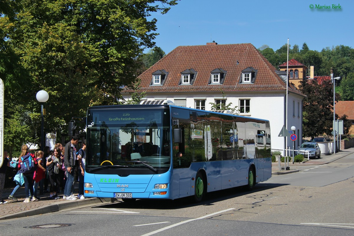 Germany, MAN A20 Lion's City Ü NÜ353 # ZW-OK 101