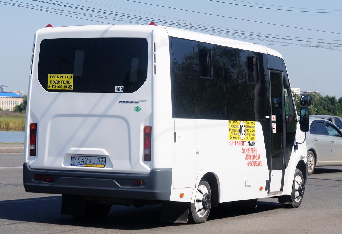 Omsk region, GAZ-A64R45 Next # Т 542 ХС 55