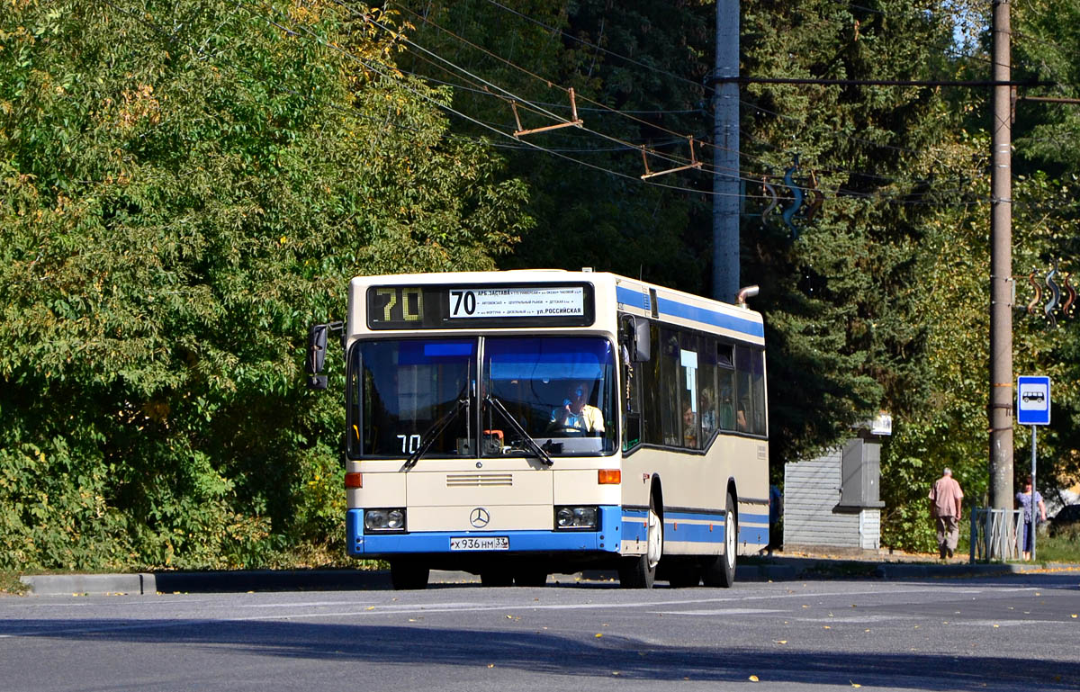 Penza region, Mercedes-Benz O405N2 # Х 936 НМ 33