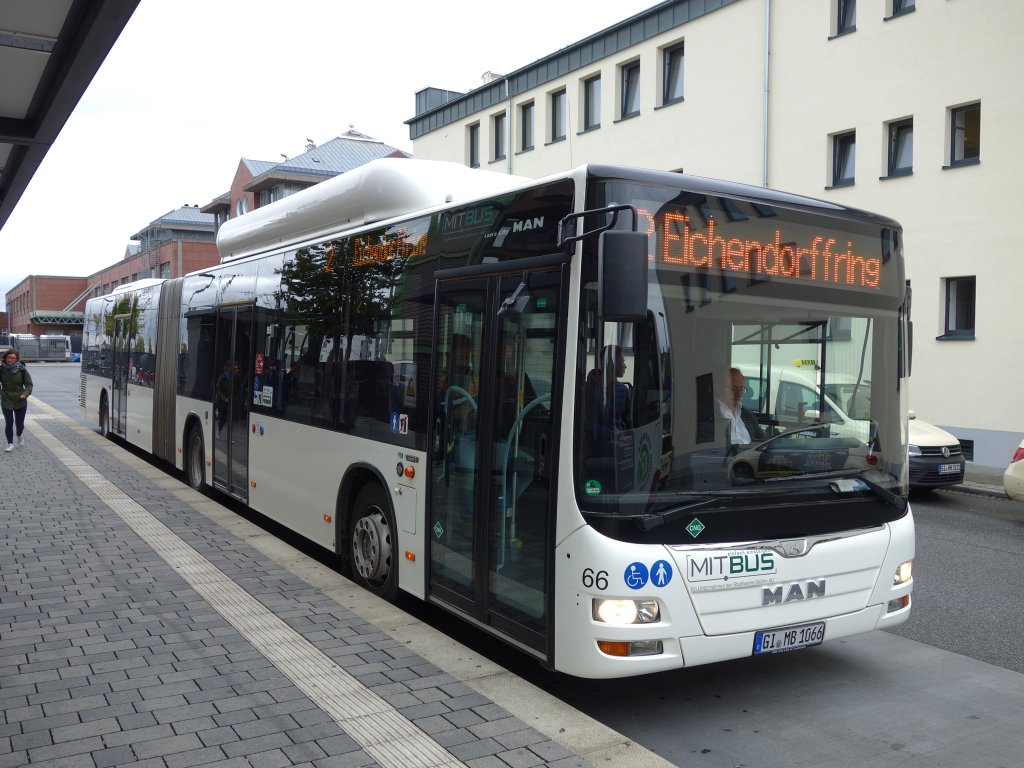 Germany, MAN A23 Lion's City G NG313 CNG # 66