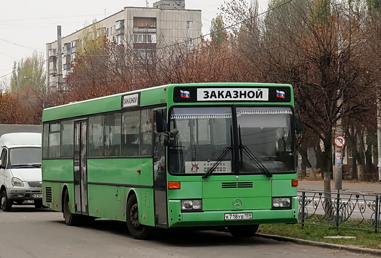 Lipetsk region, Mercedes-Benz O407 # К 718 УВ 159