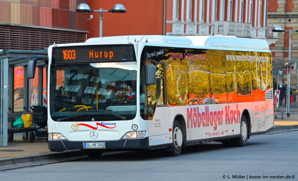 Germany, Mercedes-Benz O530 Citaro LE # SL-HF 240